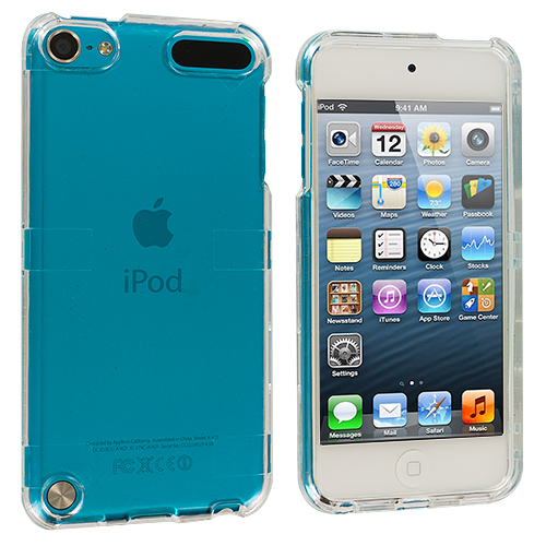 Apple iPod Touch 5th 6th Generation Clear Crystal Transparent Hard Case Cover