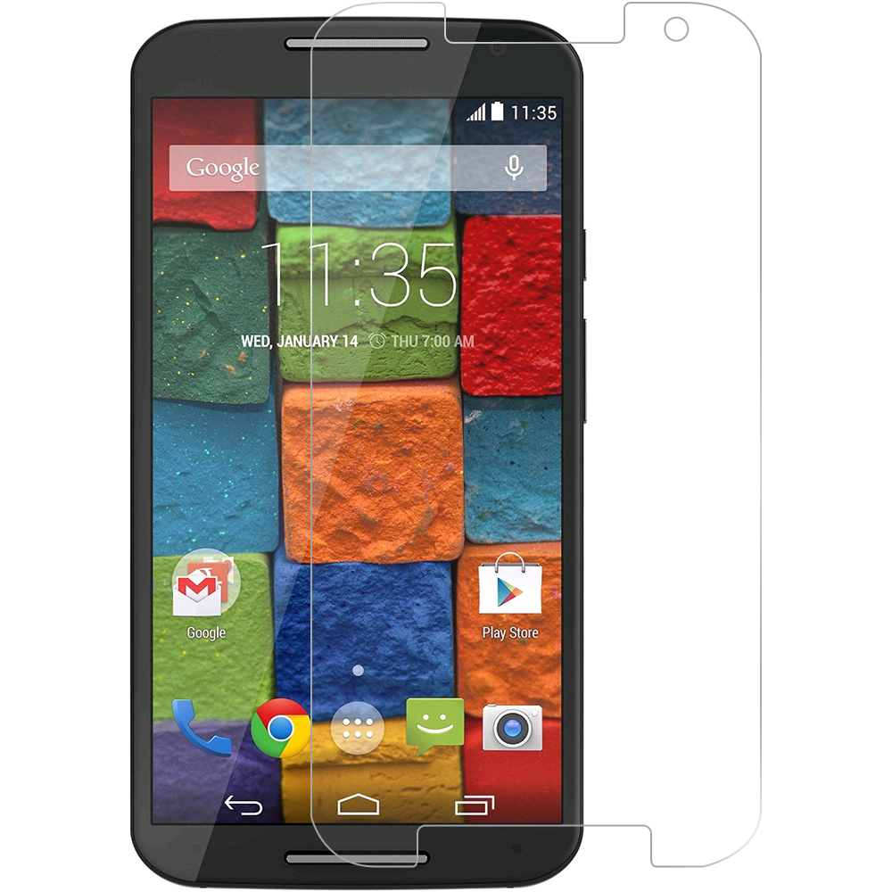Motorola Moto X 2nd Gen Clear LCD Screen Protector