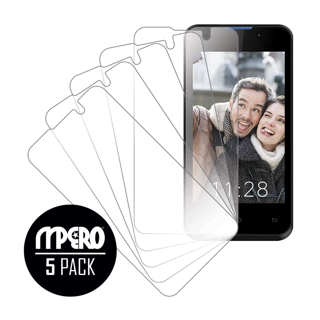 Sky Devices 4.0 MPERO 5 Pack of Ultra Clear Screen Protectors