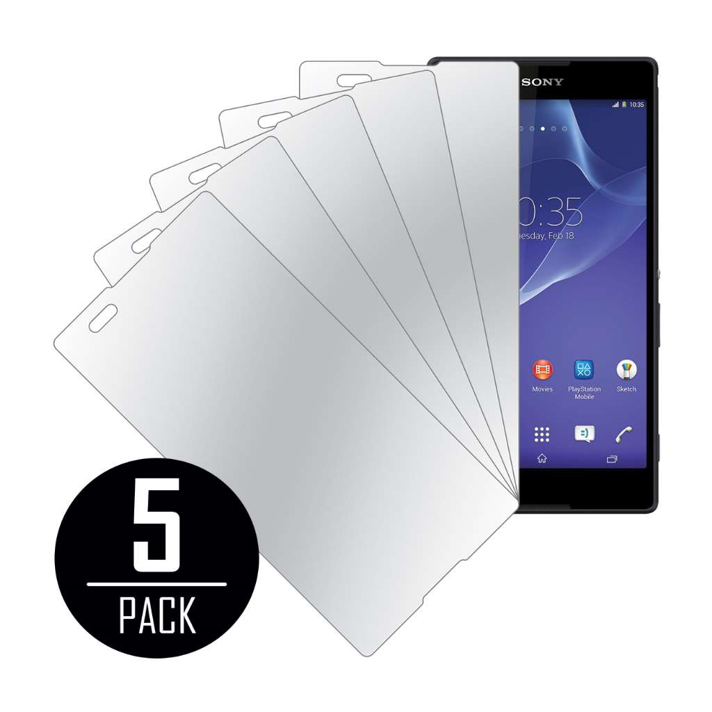 Sony Xperia T2 Ultra MPERO 5 Pack of Mirror Screen Protectors