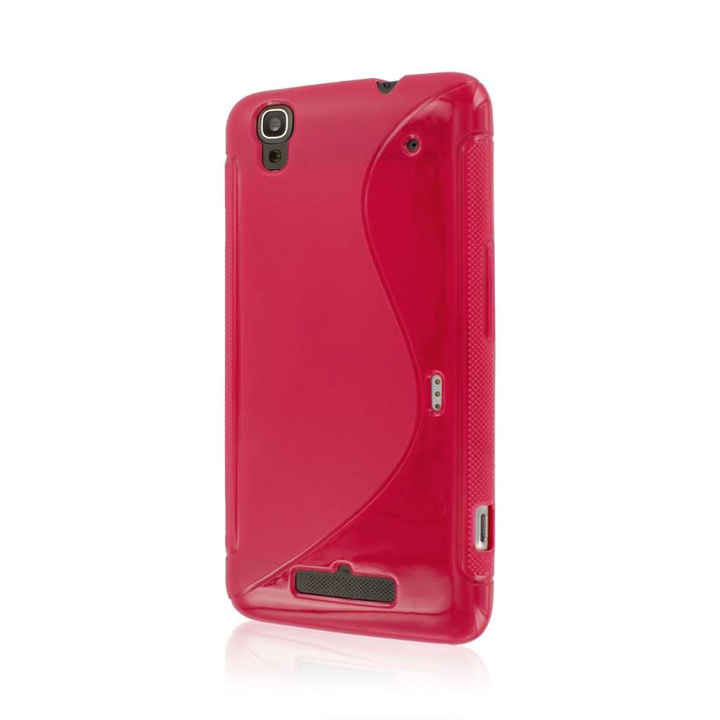 ZTE Boost Max - Hot Pink MPERO FLEX S - Protective Case Cover