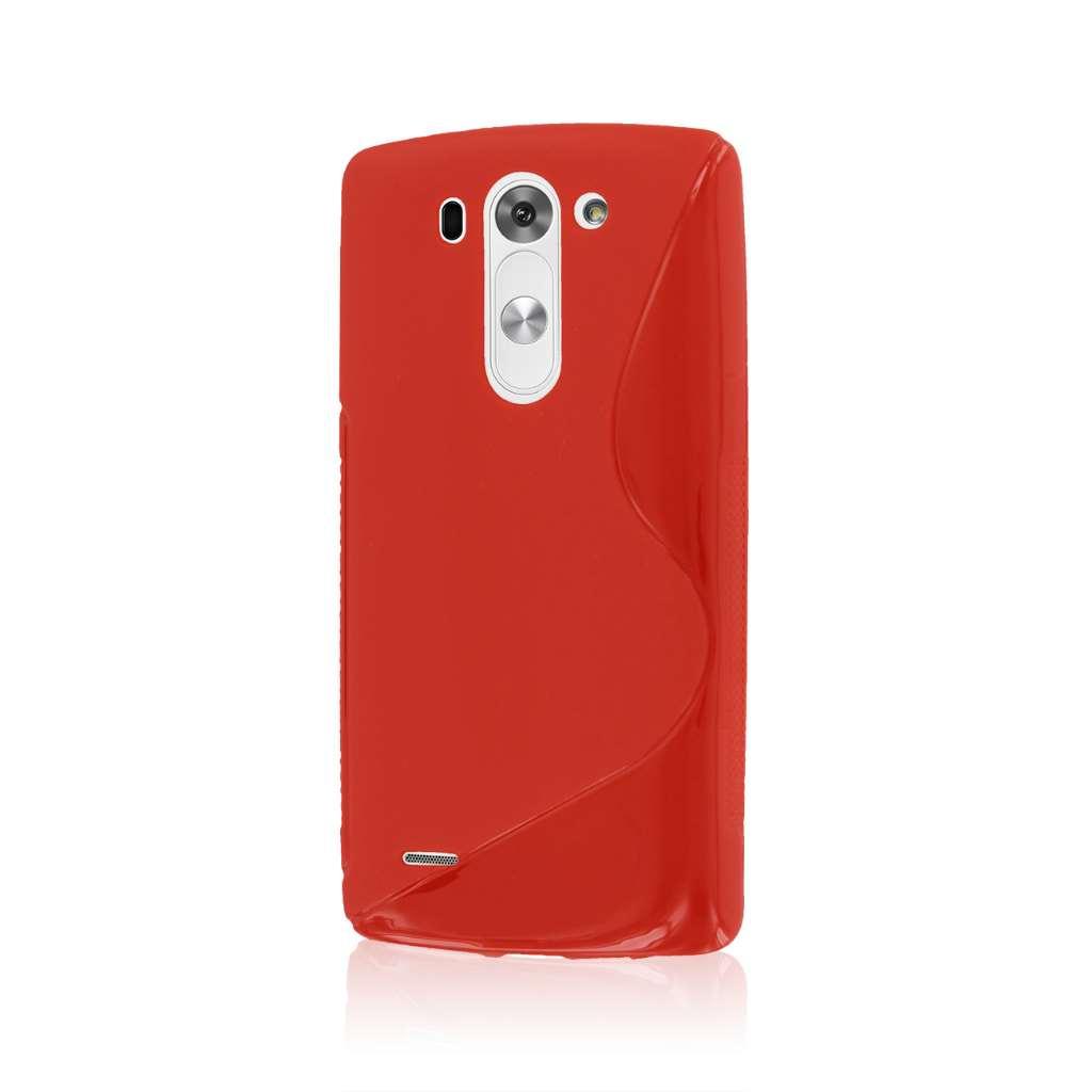 LG G3 Mini - Red MPERO FLEX S - Protective Case Cover