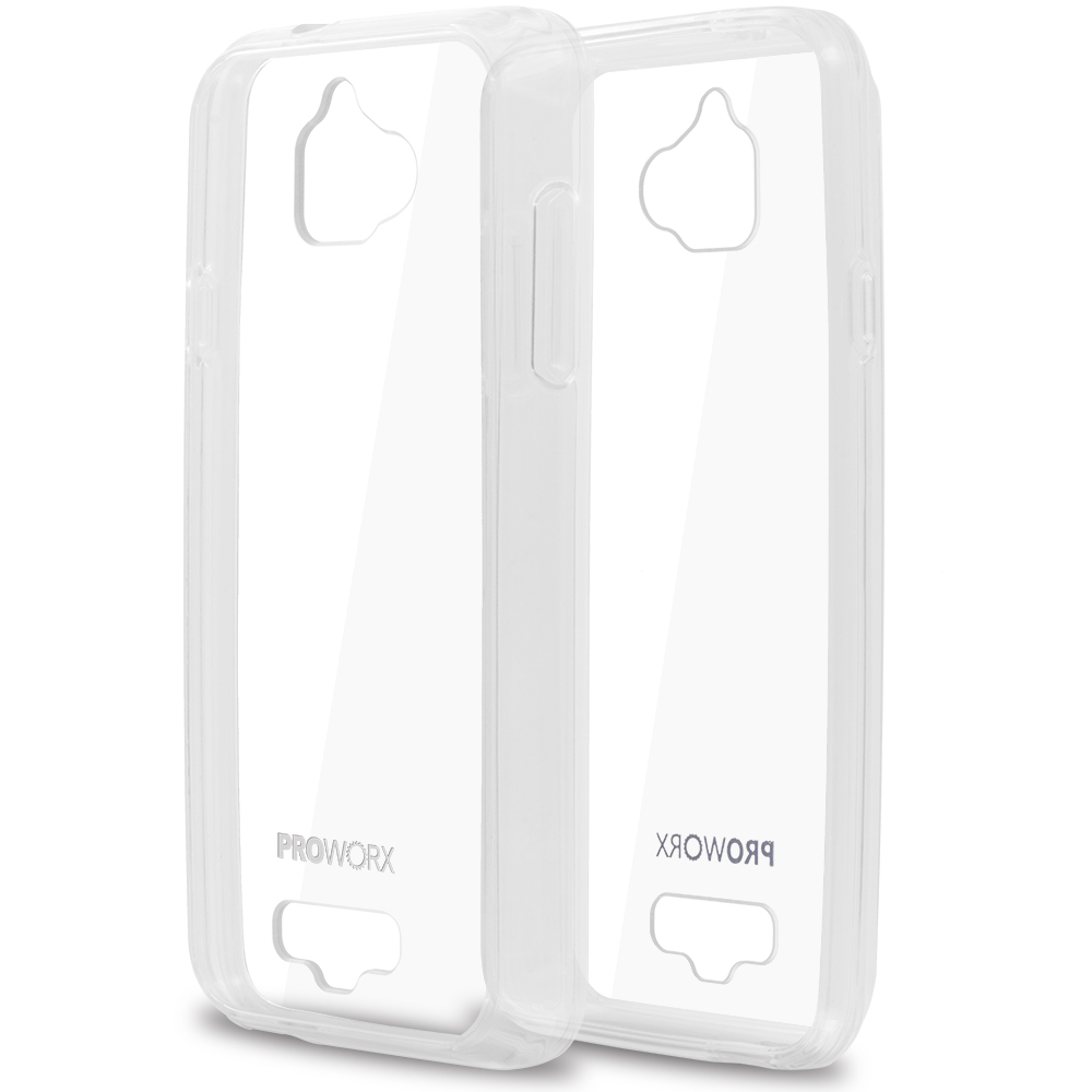 Coolpad Catalyst Clear ProWorx Shock Absorption Case Bumper TPU & Anti-Scratch Clear Back Cover