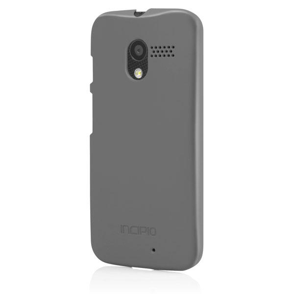 Moto X - Iridescent Gray Incipio Feather Case Cover