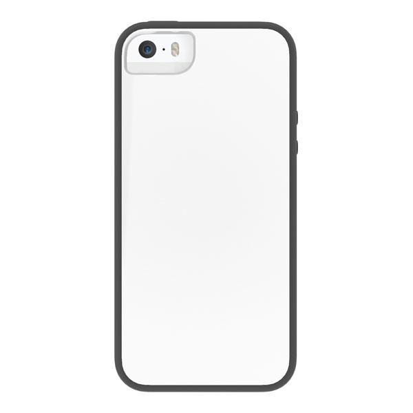 iPhone 5/5S/SE - White/Black Skech Glow Case