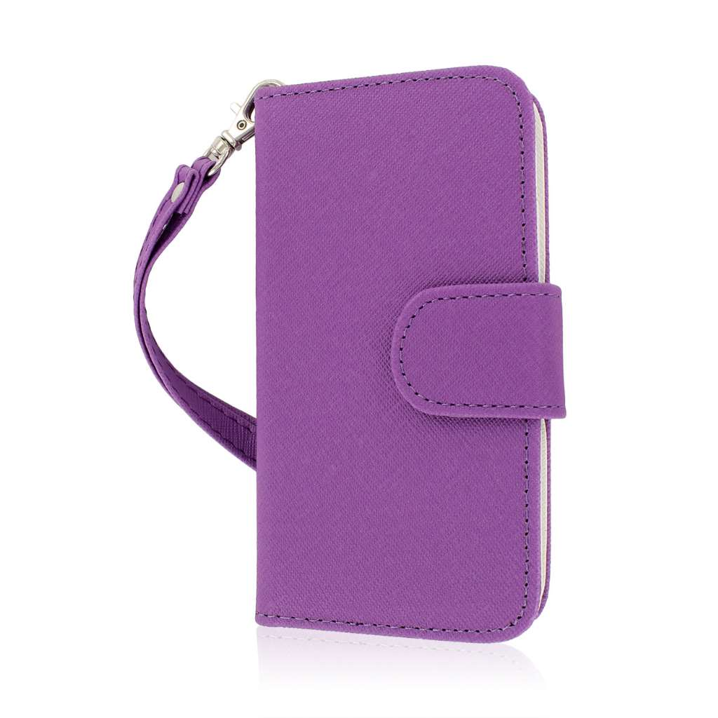 Huawei Vitria - Purple MPERO FLEX FLIP Wallet Case Cover