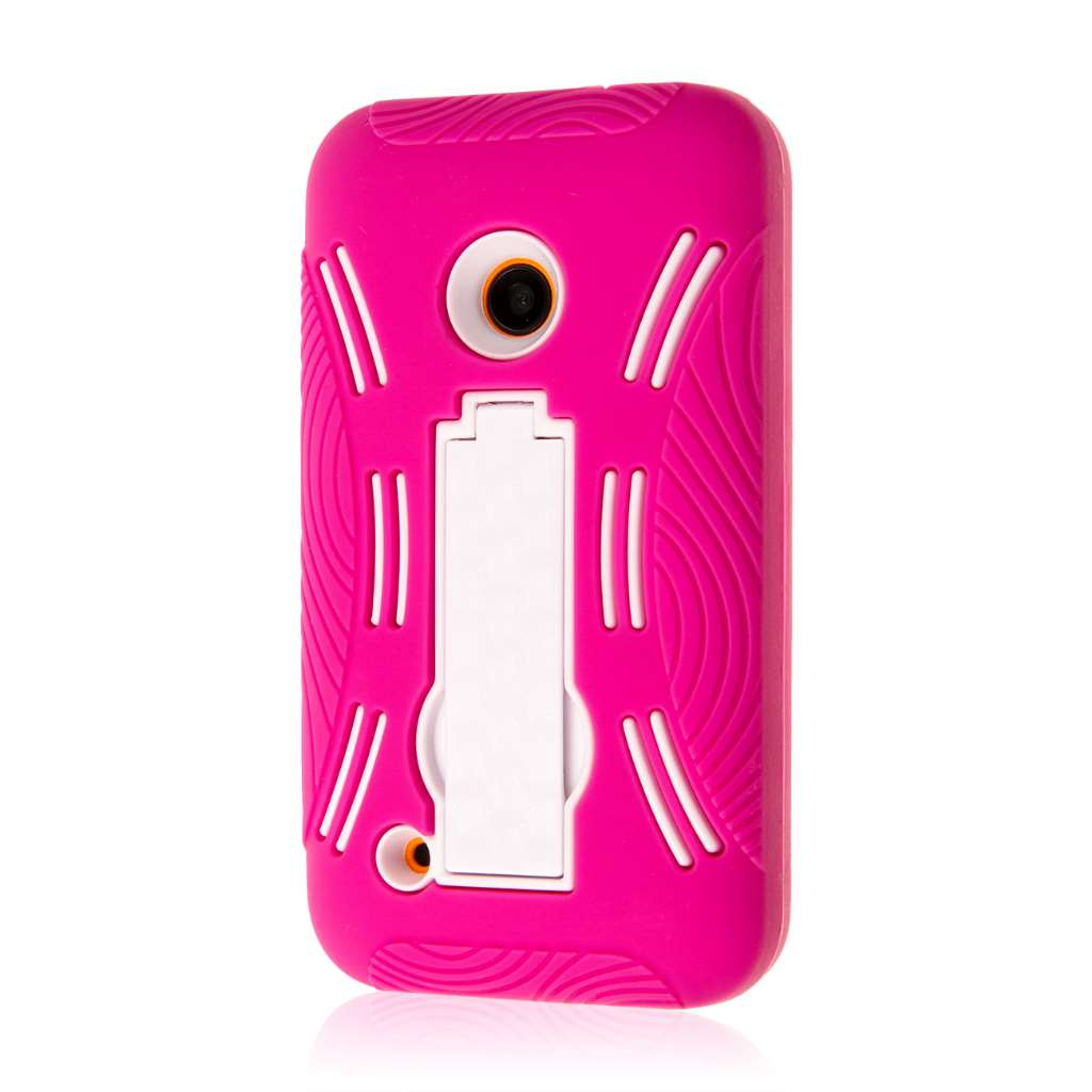 Nokia Lumia 530 - Hot Pink MPERO IMPACT XL - Kickstand Case Cover