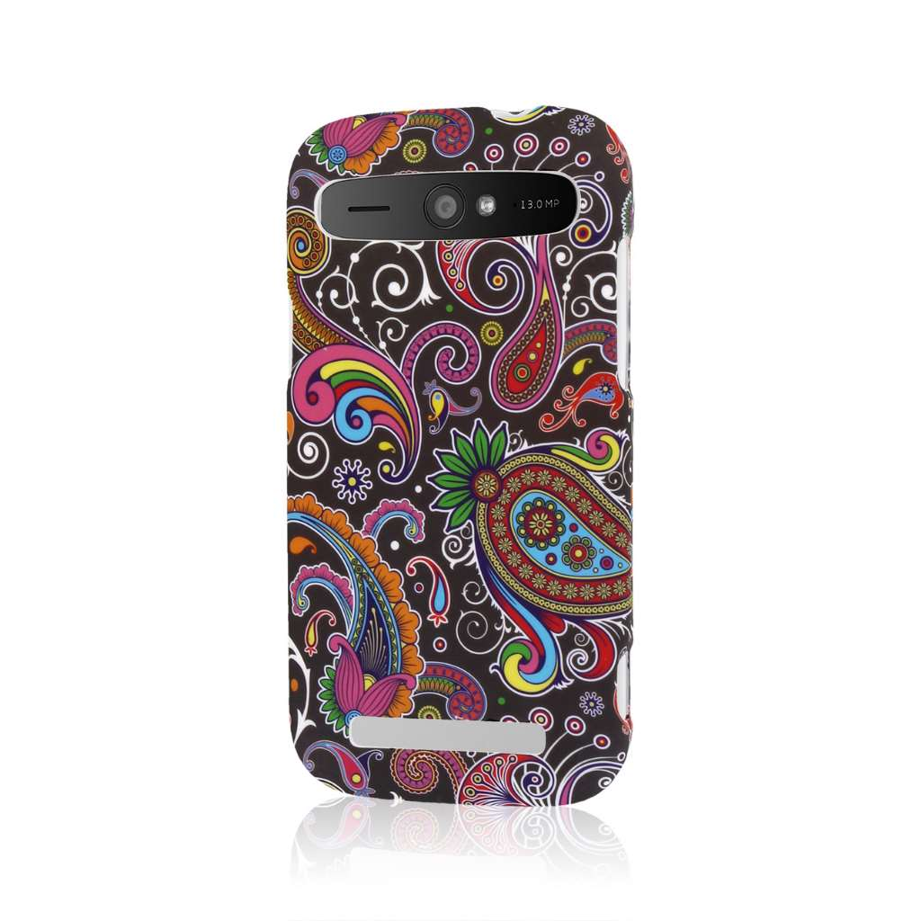 ZTE Grand S Pro - Black Paisley MPERO SNAPZ - Case Cover