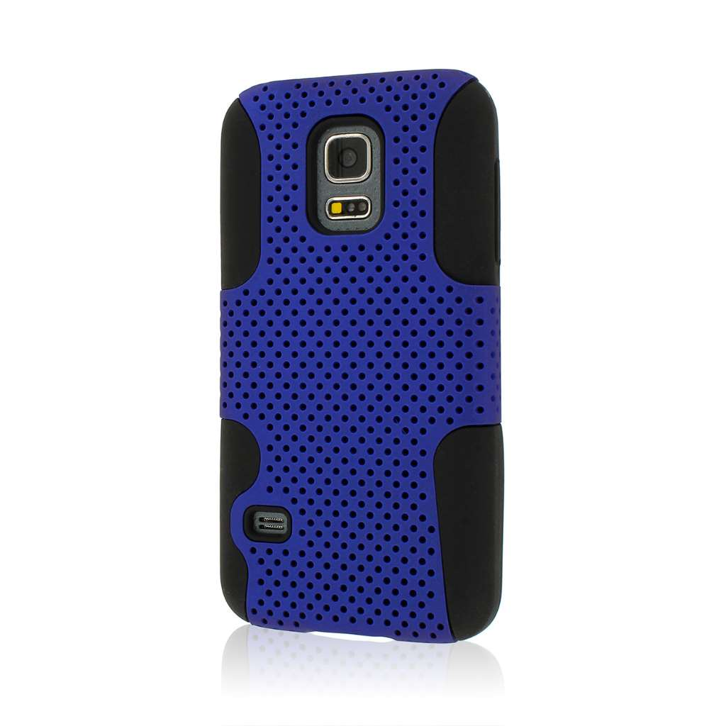 Samsung Galaxy S5 Mini - Blue MPERO FUSION M - Protective Case Cover