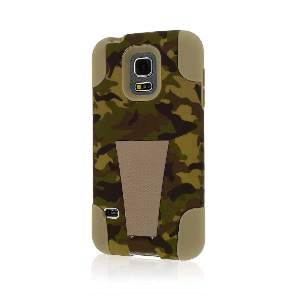 Samsung Galaxy S5 Mini - Hunter Camo MPERO IMPACT X - Kickstand Case Cover