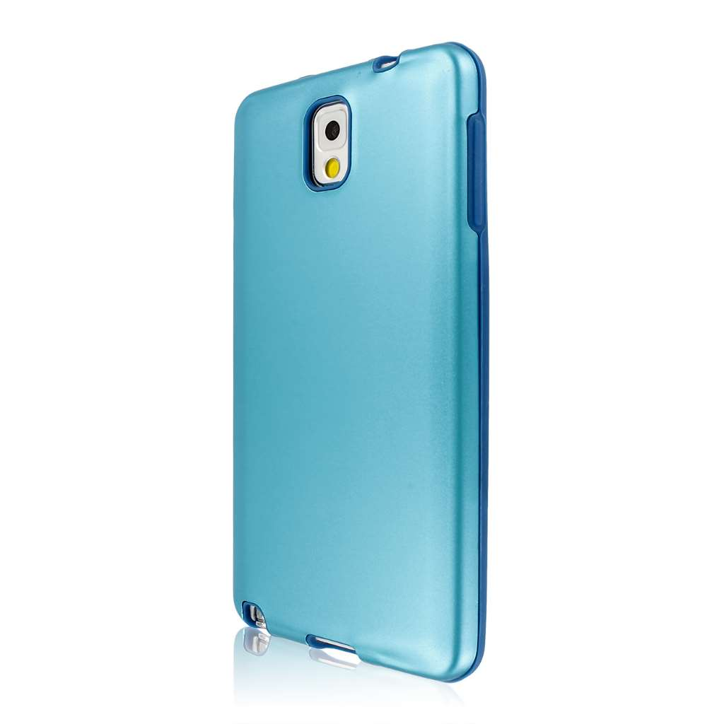 Samsung Galaxy Note 3 - Blue Gunmetal MPERO FUSION AL - Protective Case