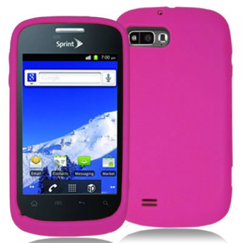 ZTE Fury N850 Hot Pink Silicone Soft Skin Case Cover