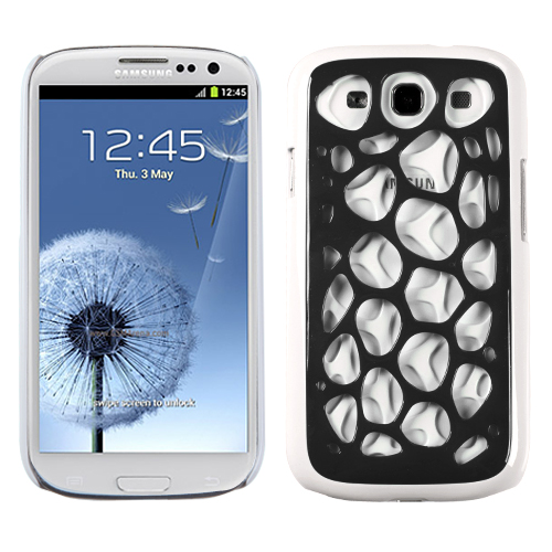 For Samsung Galaxy S3 Hard Synapse Slim Grip Case Phone Cover