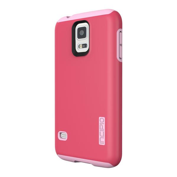 Samsung Galaxy S5 - Pink/Pink Incipio DualPro Case Cover
