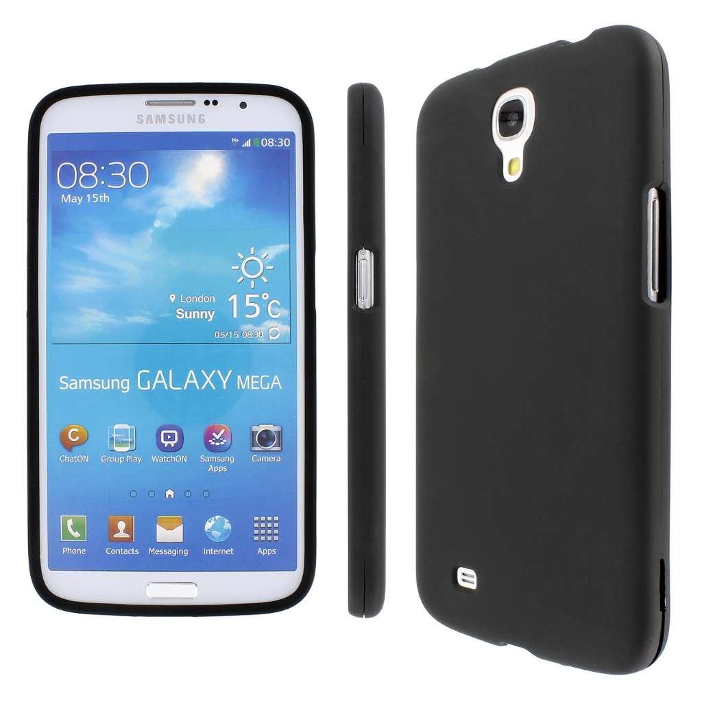 Samsung Galaxy Mega 6.3 MPERO Full Protection Hard Rubberized Black Case