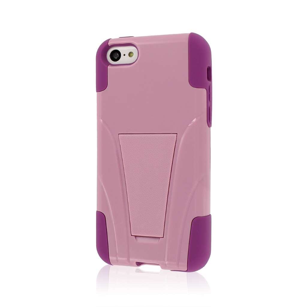 Apple iPhone 5C - Pink MPERO IMPACT X - Kickstand Case Cover