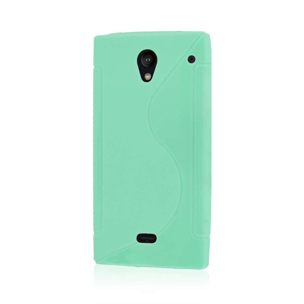 Sharp AQUOS Crystal - Mint Green MPERO FLEX S - Protective Case Cover