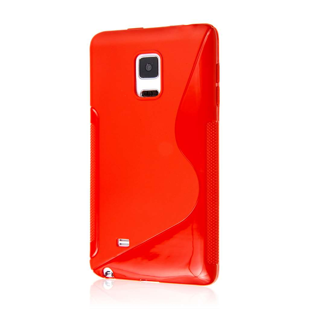 Samsung Galaxy Note Edge - Red MPERO FLEX S - Protective Case Cover