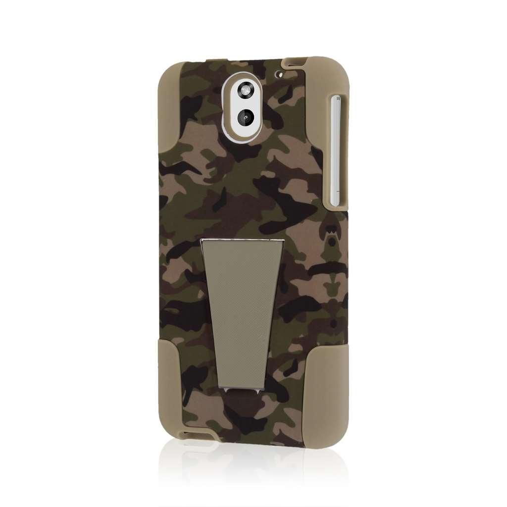 HTC Desire 610 - Hunter Camo MPERO IMPACT X - Kickstand Case Cover