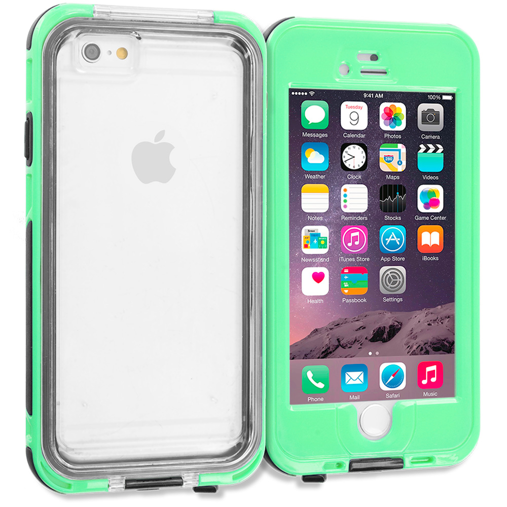 Apple iPhone 6 6S (4.7) Aqua Waterproof Shockproof Dirtproof Hard Full Protection Case Cover