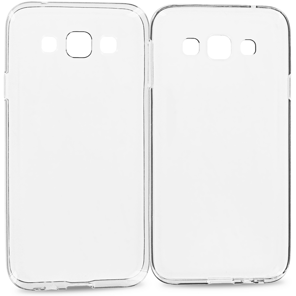 Samsung Galaxy E5 S978L Clear TPU Rubber Skin Case Cover