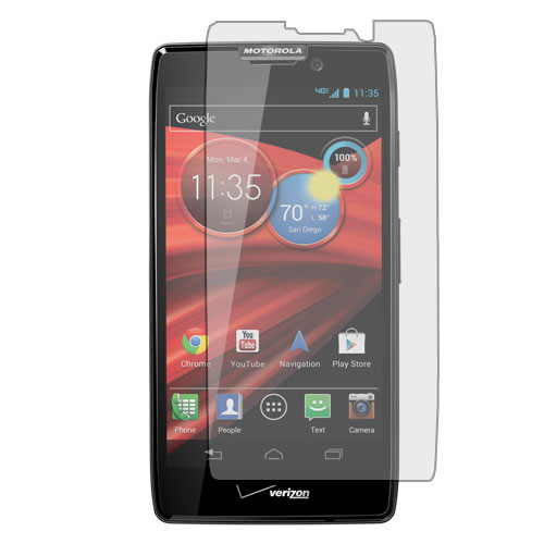 Motorola Droid Razr HD XT926 Clear LCD Screen Protector