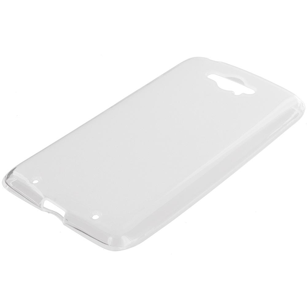 Motorola Droid Turbo Clear TPU Rubber Skin Case Cover
