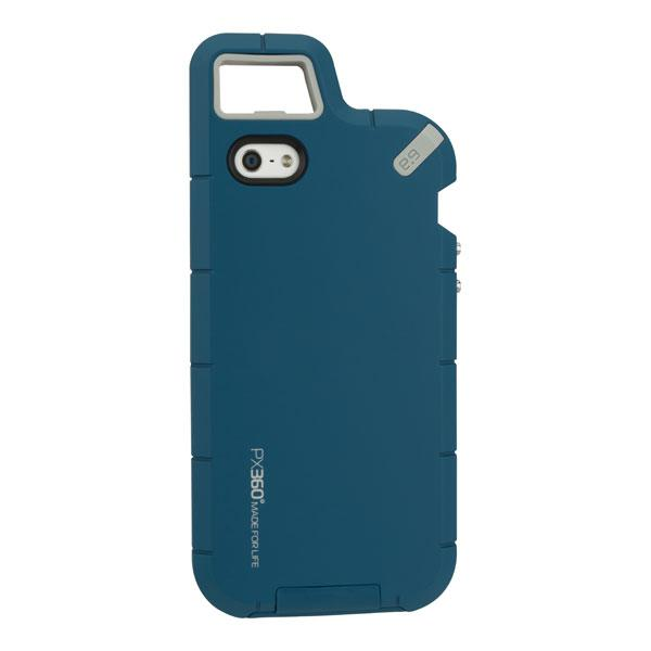 iPhone 5S/5 - Clay Blue PureGear PX360 Extreme Protection System Case
