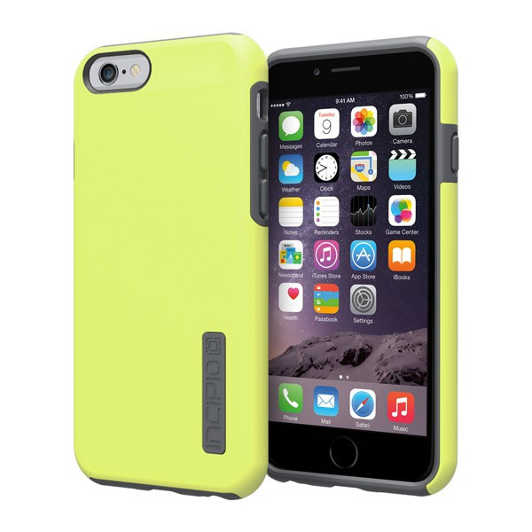 iPhone 6/6S - Lime/Gray Incipio DualPro Case Cover