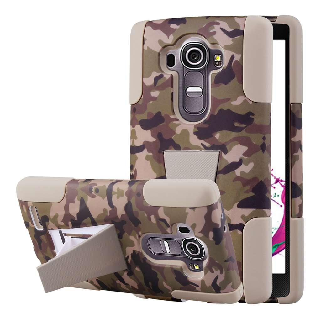 LG G4 - Hunter Camo MPERO IMPACT X - Kickstand Case Cover
