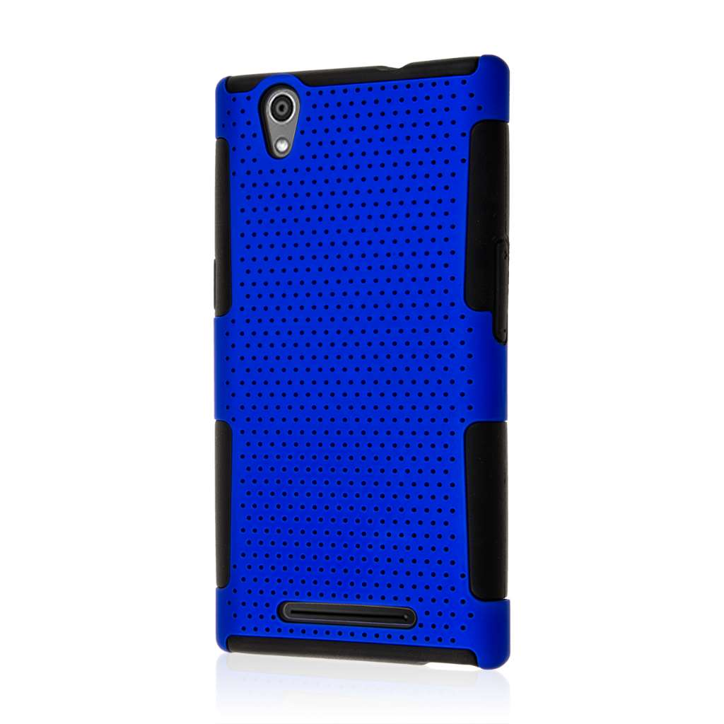 ZTE ZMAX - Blue MPERO FUSION M - Protective Case Cover