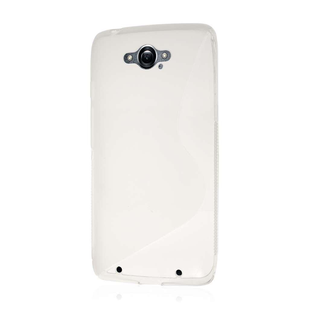 Motorola DROID TURBO - Clear MPERO FLEX S - Protective Case Cover