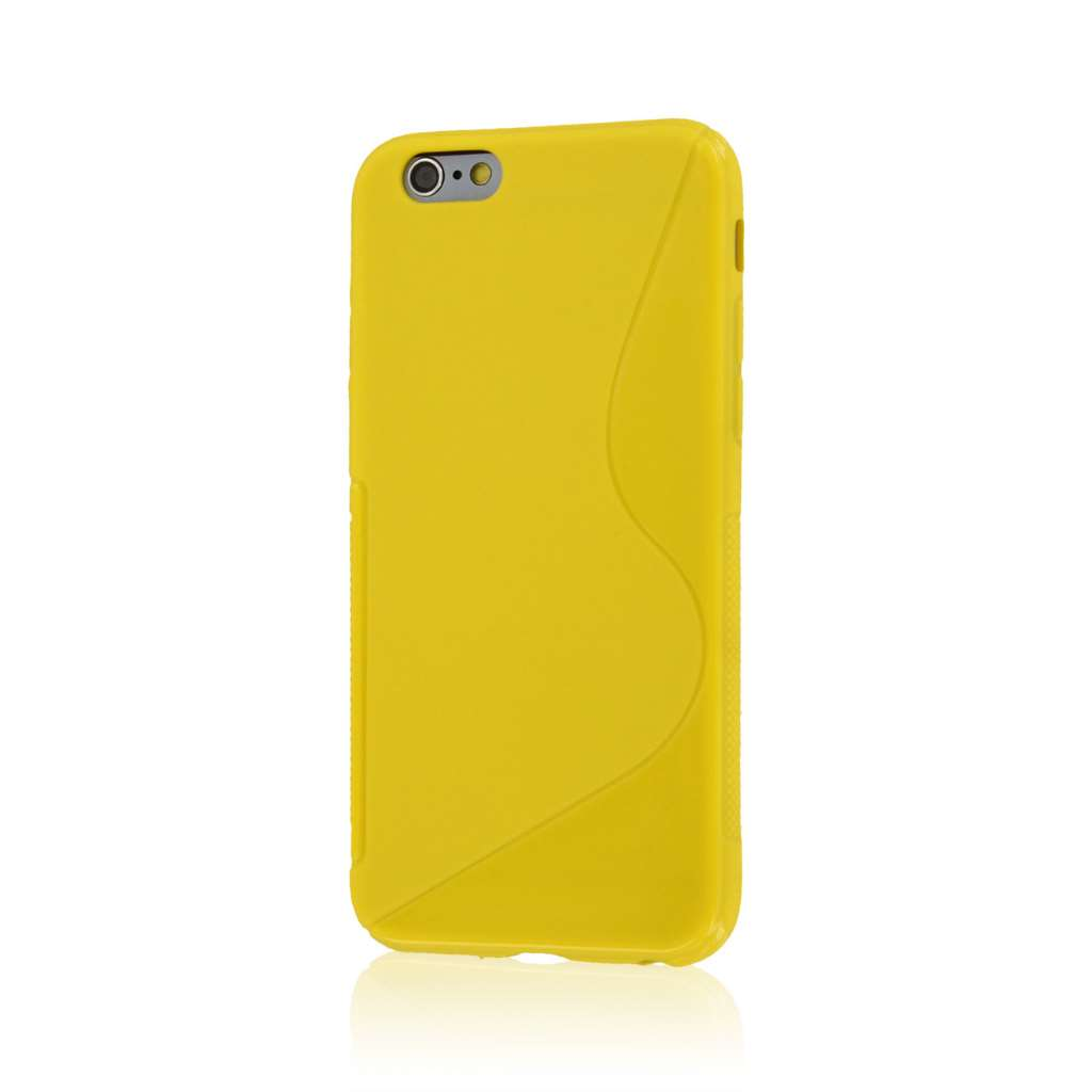 Apple iPhone 6/6S - Yellow MPERO FLEX S - Protective Case Cover