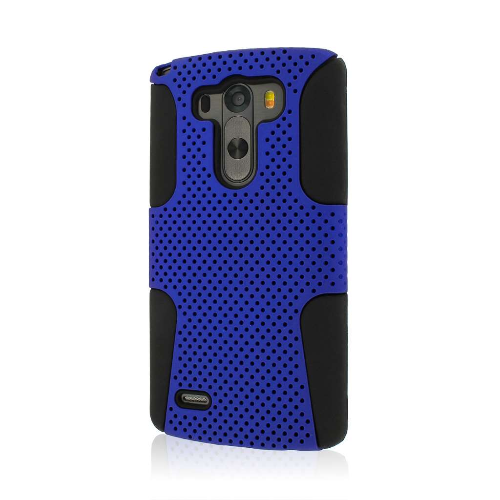 LG G3 - Blue MPERO FUSION M - Protective Case Cover