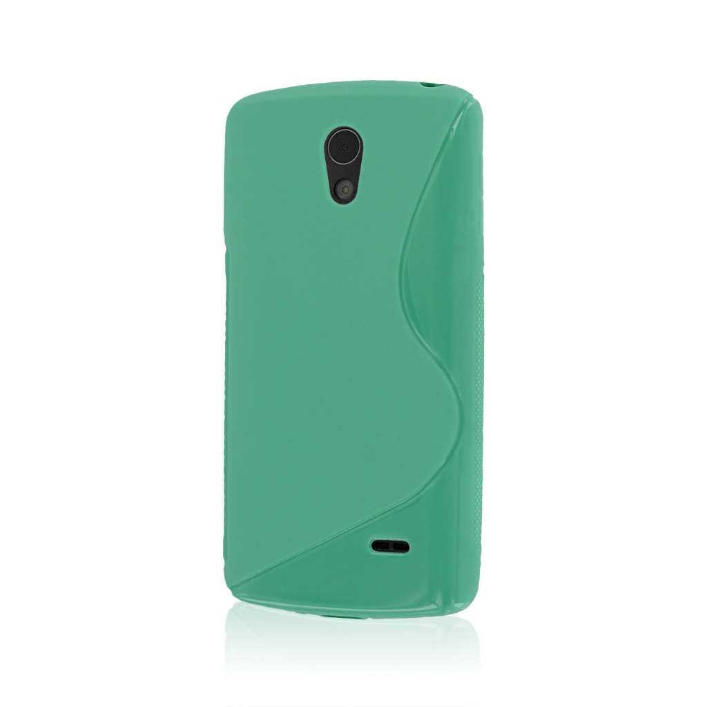 LG Lucid 3 - Mint MPERO FLEX S - Protective Case Cover