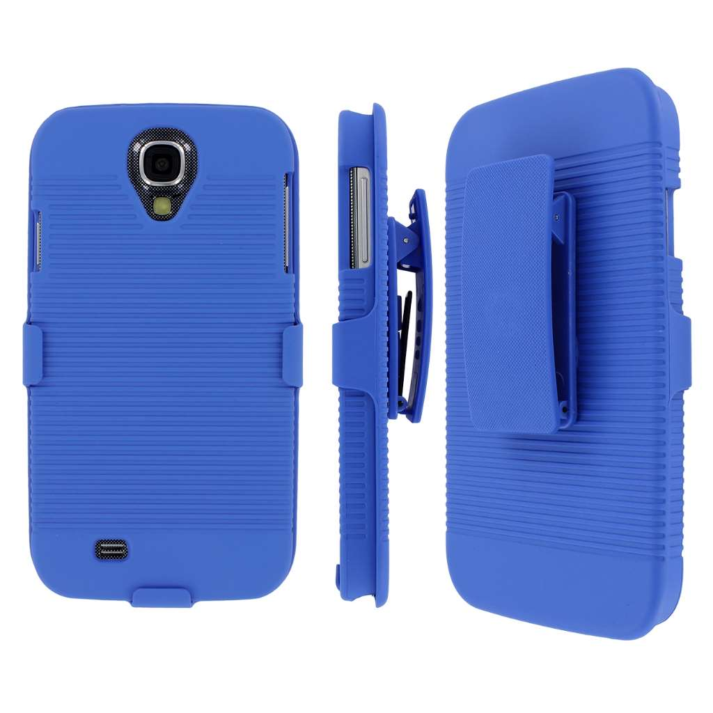 Samsung Galaxy S4 MPERO 3 in 1 Tough Kickstand Case Cover