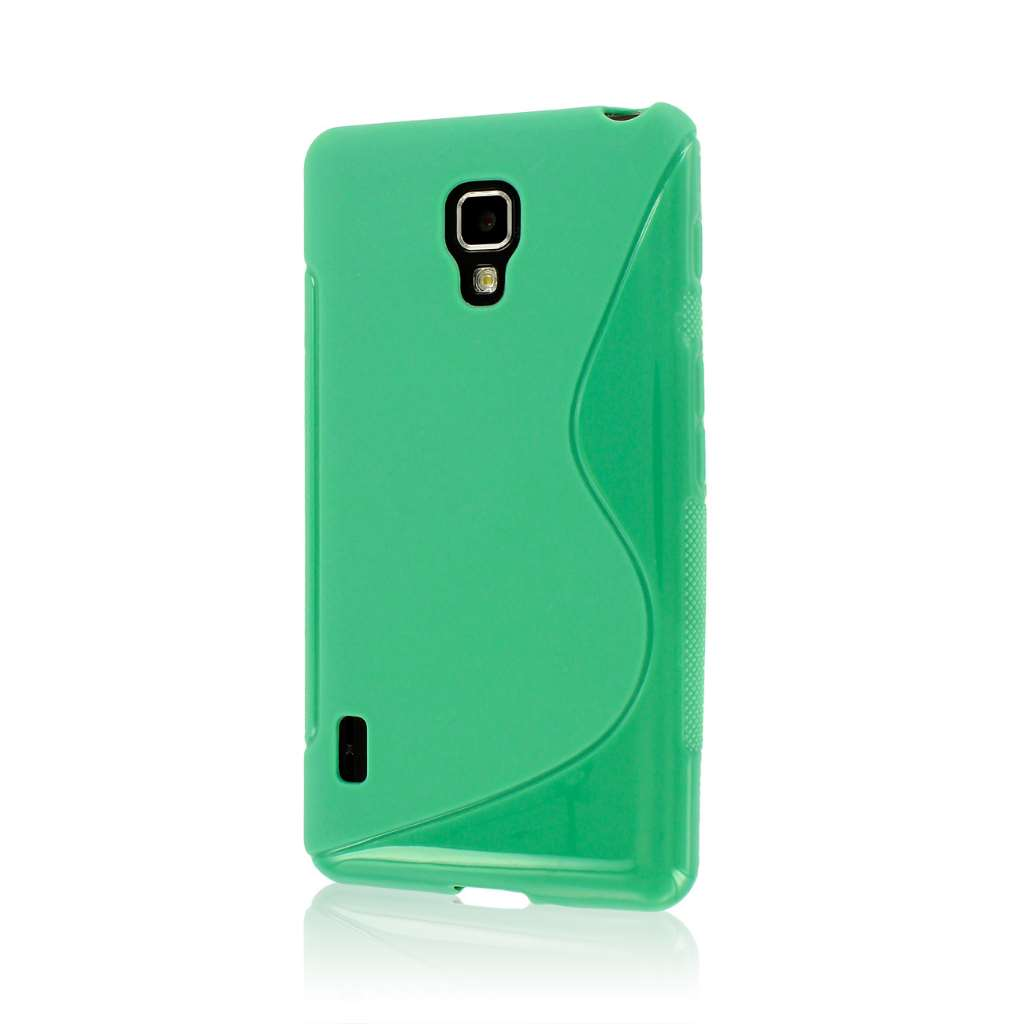 LG Optimus F7 US780 - Mint Green MPERO FLEX S - Protective Case Cover