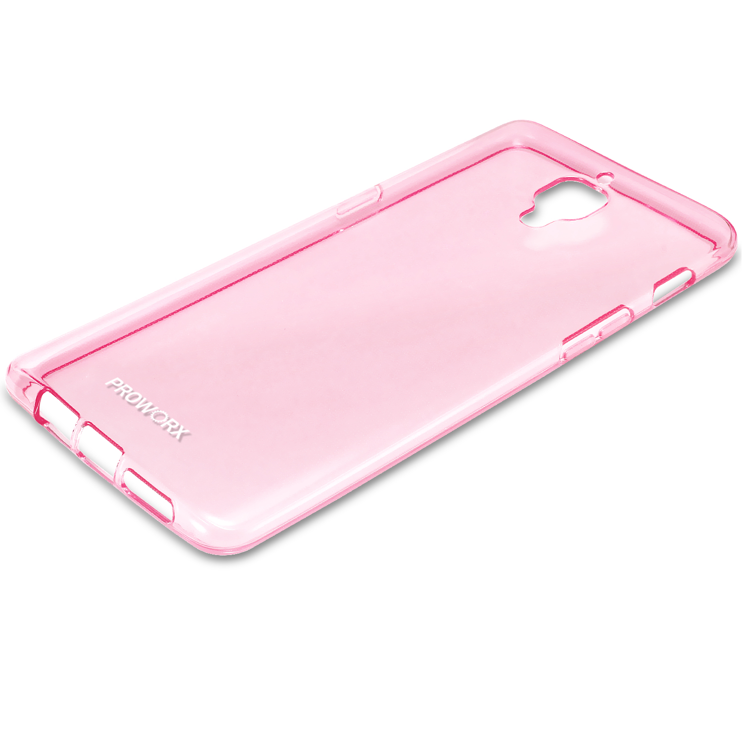 Oneplus Three 3 Hot Pink ProWorx Ultra Thin Slim-Grip Scratch Resistant TPU Silicone Case Cover