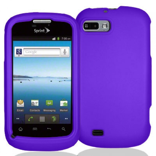 ZTE Fury N850 Purple Hard Rubberized Case Cover