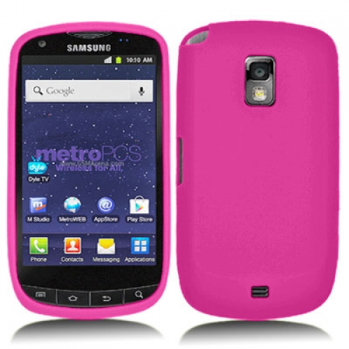Samsung Galaxy S Lightray 4G R940 Hot Pink Silicone Soft Skin Case Cover