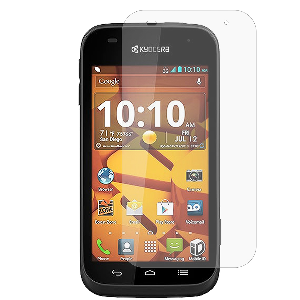 Kyocera Hydro Icon / Hydro Life Anti Glare LCD Screen Protector