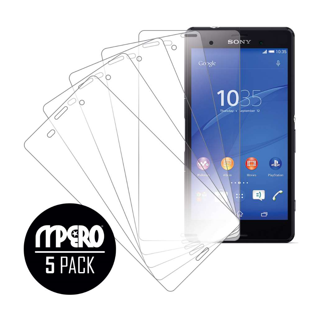Sony Xperia Z3 MPERO 5 Pack of Ultra Clear Screen Protectors