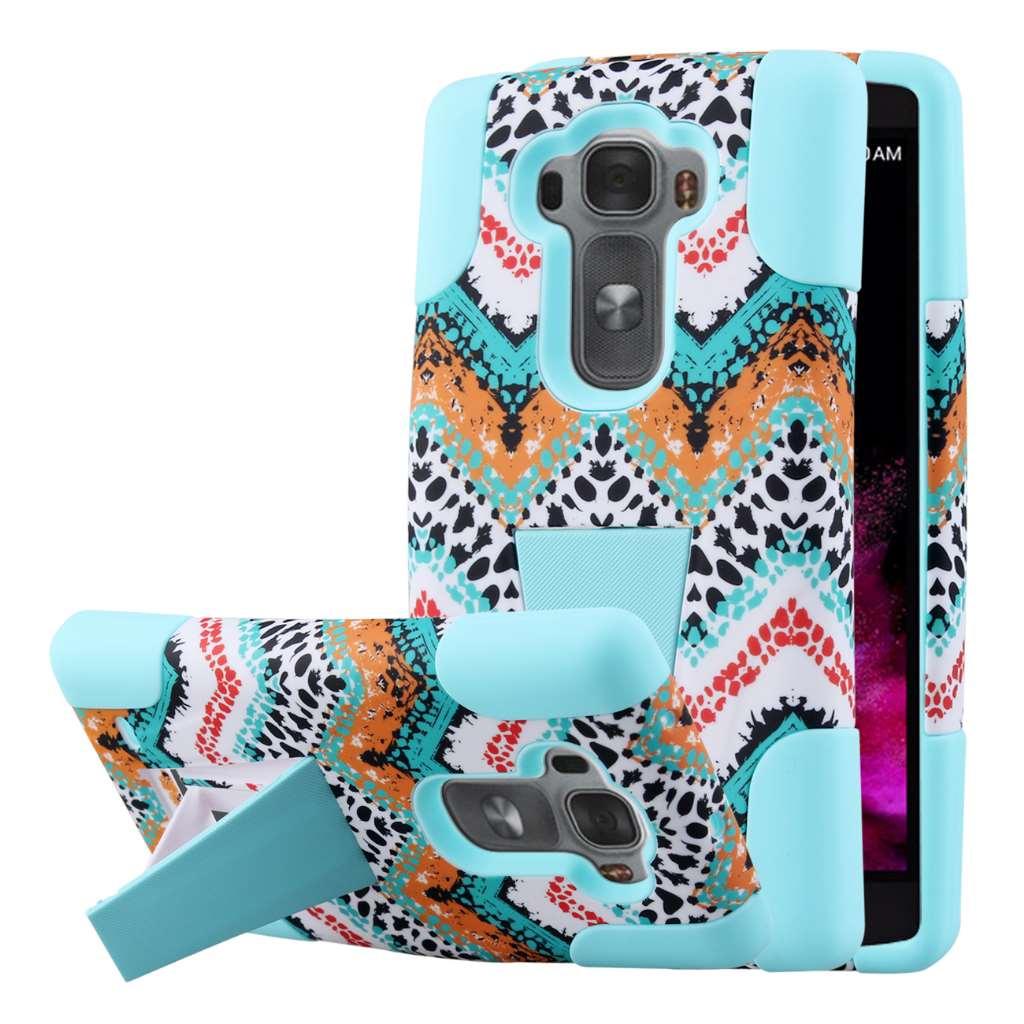 LG G Flex 2 - Aqua Safari MPERO IMPACT X - Kickstand Case Cover