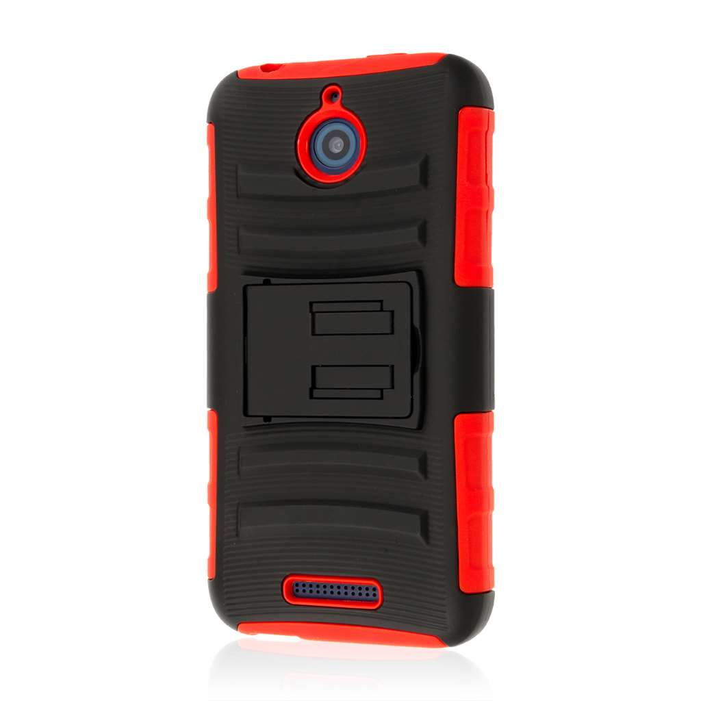 HTC Desire 510 - Red MPERO IMPACT XT - Kickstand Case Cover