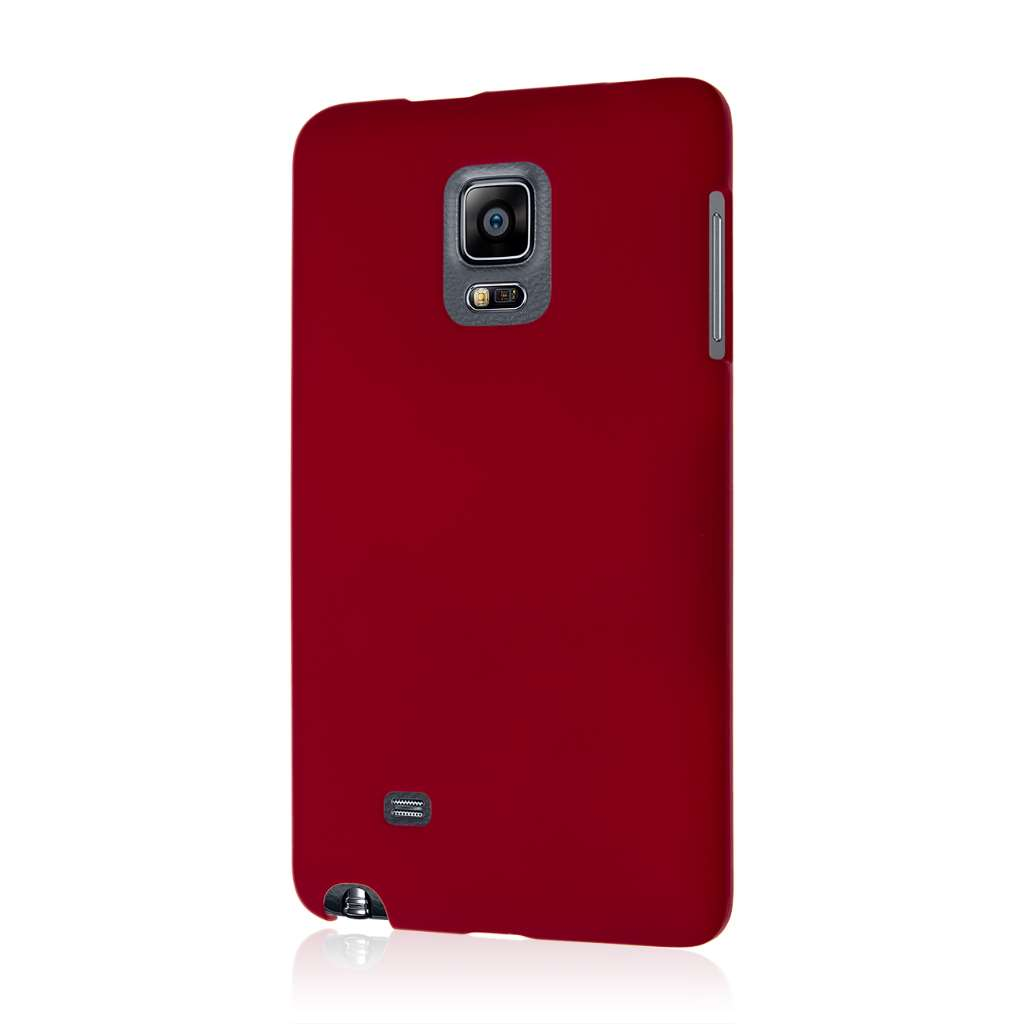Samsung Galaxy Note Edge - Burgundy MPERO SNAPZ - Case Cover