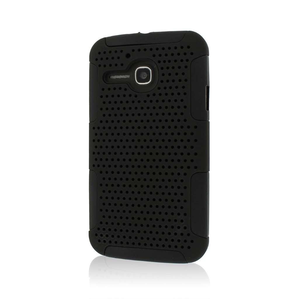 Alcatel OneTouch Evolve - Black MPERO FUSION M - Protective Case Cover
