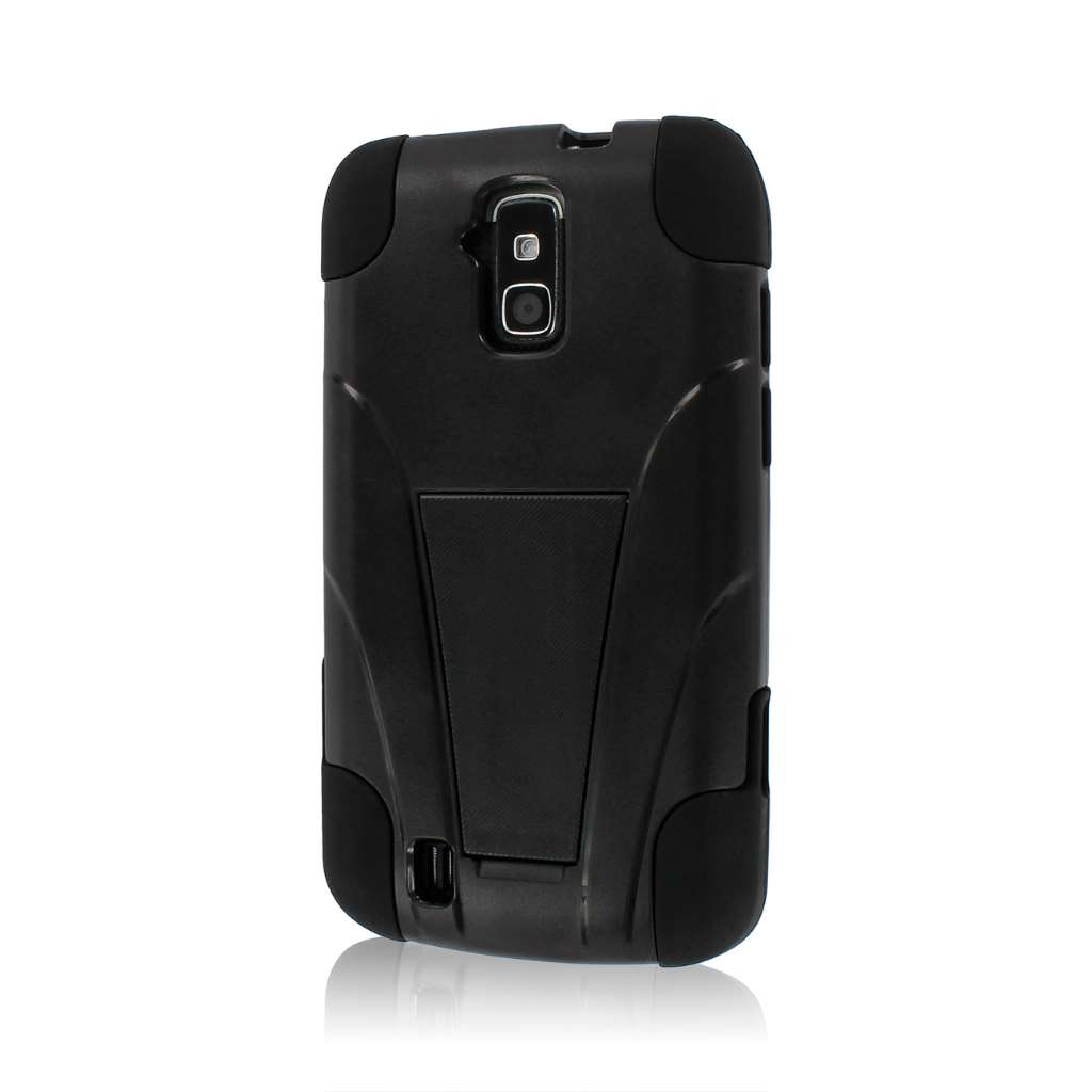 ZTE Force N9100 - Black MPERO IMPACT X - Kickstand Case Cover
