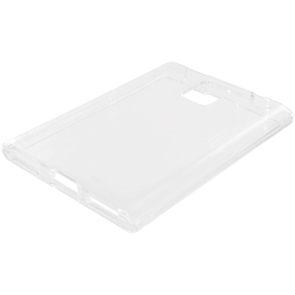 Blackberry Passport Clear Crystal Transparent Hard Case Cover