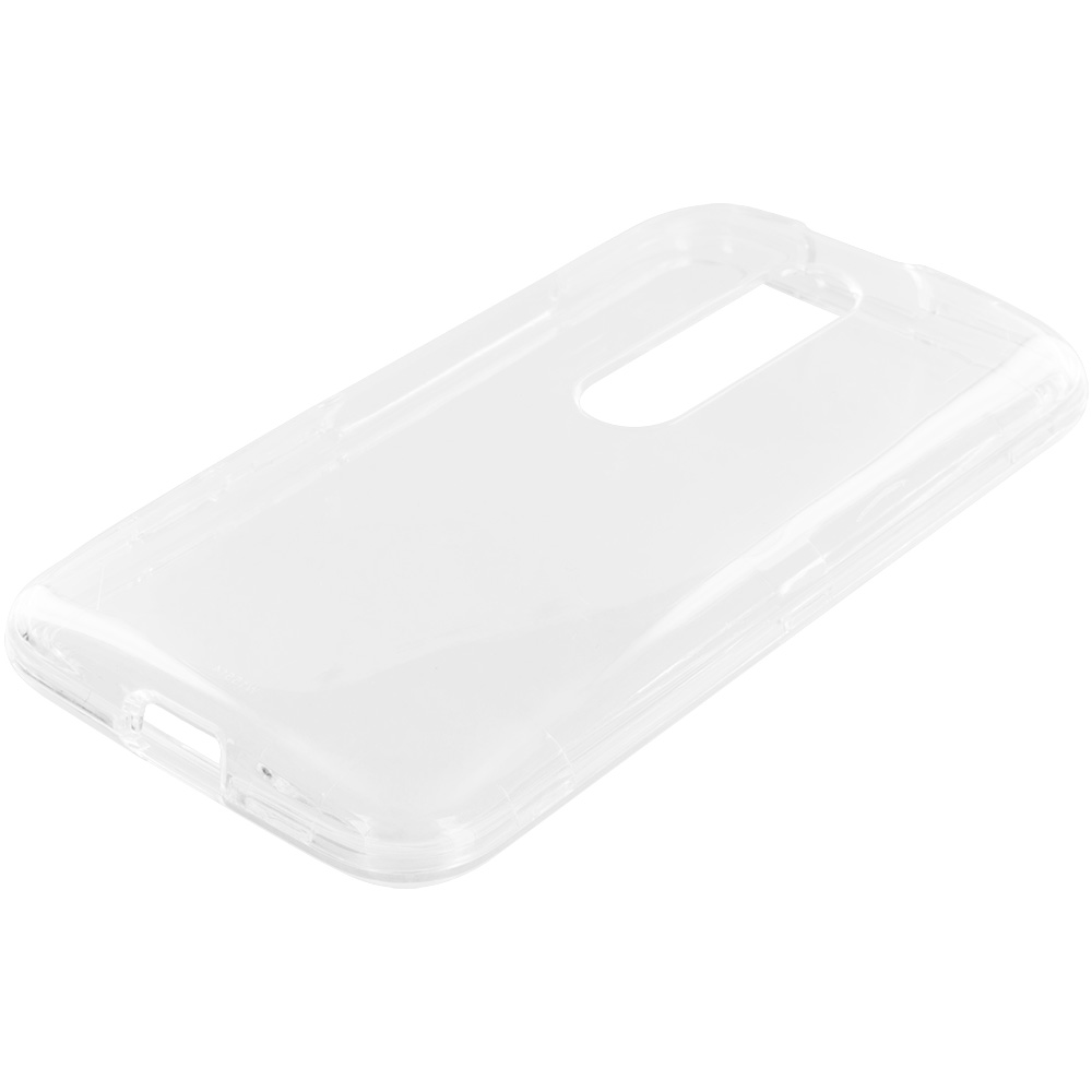 Motorola Moto G 3rd Gen 2015 Clear Crystal Transparent Hard Case Cover