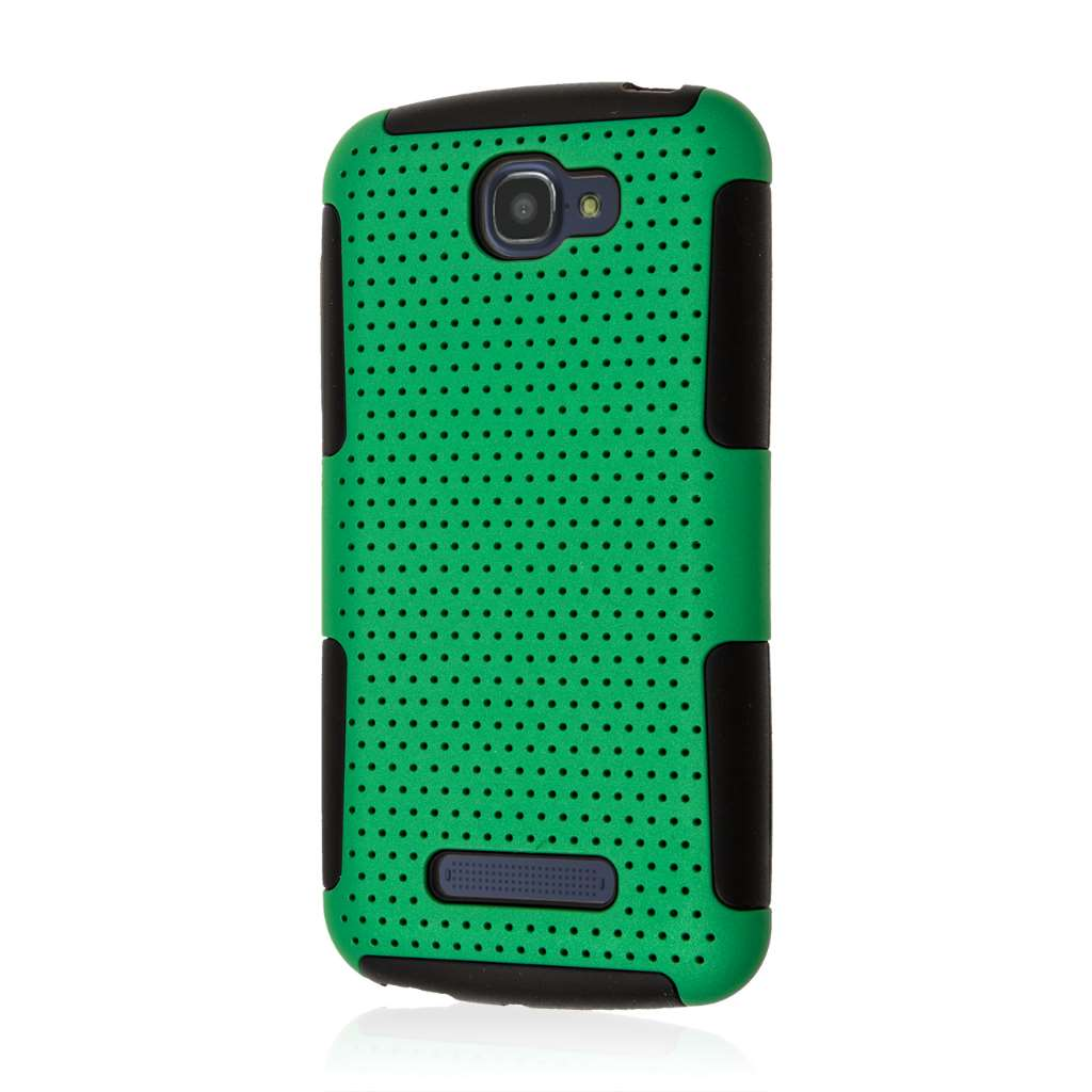 Alcatel OneTouch Fierce 2 - Green MPERO FUSION M - Protective Case Cover